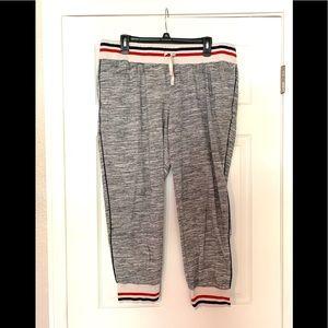 Mossimo Grey Joggers Capri Track Pants XXL